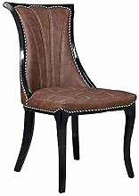QFWM Dining Chairs PU Leather Breathable Wear Seat