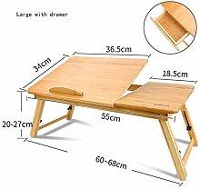 Qgg Adjustable table Bed Desk For Laptop,