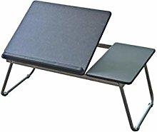 Qgg Adjustable table Folding Laptop Table Bed Desk