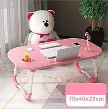 Qgg Adjustable table Furniture Laptop Desk Bed