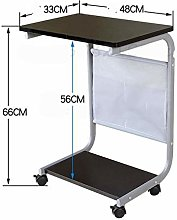 Qgg Adjustable table Laptop Desk Bedside Table