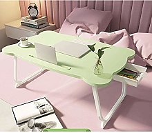 Qgg Adjustable table Simple folding laptop table