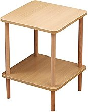 QGGG End Table Office Side Table Wood Look Accent