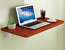 QGQ Household Wall-Mounted Computer Desk -Solid