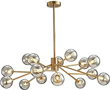 QHCS Chandelier Ceiling Light Fixture For Flat