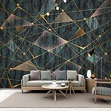 QHDHGR 3D Wallpaper Mural Geometric Art Pattern