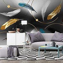 QHDHGR Wall Murals Wallpaper 3D Effects Color