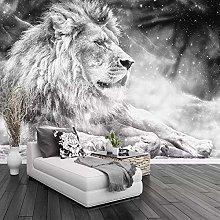 QHDHGR Wall Murals Wallpaper 3D Effects Grey &