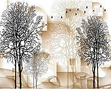 QHDHGR Wall Murals Wallpaper 3D Effects Small