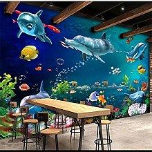 QHDHGR Wall Murals Wallpaper 3D Effects Underwater