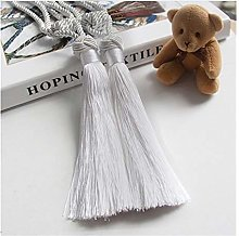 QHKS 2PCS Curtain tieback tie-backs tassle tie
