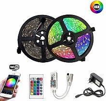 QHY RGB LED Strip 5m 10m 15m Waterproof led neon