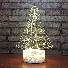 QHZSFF 3D Illusion Lamp,Bedroom Desk Decoration