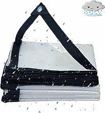 QI-CHE-YI Transparent Tarpaulin, Rainproof Plastic