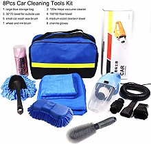 qianber 8Pcs Car Wash Cleaning Tools Set with Bag