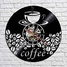 QIANGTOU Coffee Bar Home Decor Coffee Bean Wall