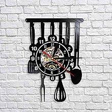 QIANGTOU Cutlery Farmhouse Kitchen Art Sign Wall