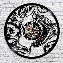 QIANGTOU The Snake Serpent Animal Home Wall Art