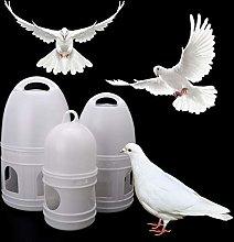 QIANHUA 1.2L/3L/5L Birds Drinker Feeder Automatic