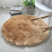 QIAO Faux Fur Rug Bedrooms Living Room Kids Rooms