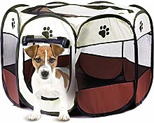 QIAO Portable Folding Dog House,Pet Dog/Cat tent