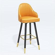 QIAOLI Bar Ttool Modern Barstool With Metal Legs