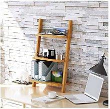 QIAOLI Desktop Bookshelf Wood Desktop Bookshelf