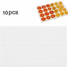 Qiekenao Silicone Dehydrator Sheets for Fruit,
