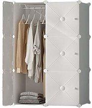 QIFFIY wardrobe Plastic Portable Wardrobe Closet