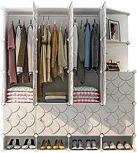 QIFFIY wardrobe Portable Closet Wardrobe Storage