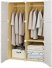 QIFFIY wardrobe Portable Wardrobe Closet for