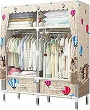 QIFFIY wardrobe Simple Wardrobe Closet With