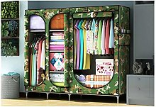 QIFFIY wardrobe Wardrobe Portable Cloth Wardrobe