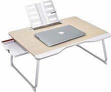 QIFFIY Workstation Stand Desk Folding Laptop Desk