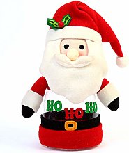 QIHang Christmas Cookie Jar Food Canister with Lid