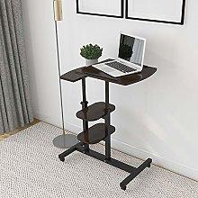 QIHANG-UK Laptop Stand Desk Cart Laptop Side Table