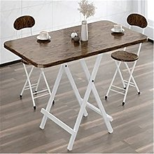 QiHaoHeji Folding Table Foldable Table Dining