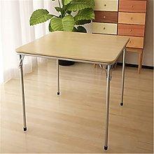 QiHaoHeji Folding Table Folding Dining Table