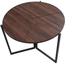 QiHaoHeji Folding Table Folding Dining Table Small