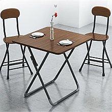 QiHaoHeji Folding Table Folding Table Dining Table