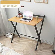 QiHaoHeji Folding Table Folding Table Rectangular