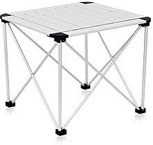 QiHaoHeji Folding Table Outdoor Portable Folding