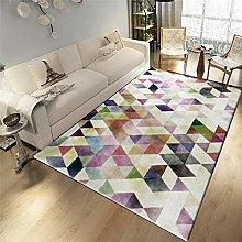 QiJi-Home Modern Large Rug Living Room Bedroom Big