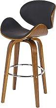 QILIYING Bar Chairs Bar Stools 2 Pcs Modern North