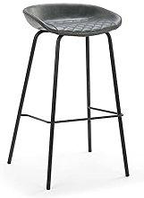 QILIYING Bar Chairs Bar Stools 2 Pcs Soft Rhombic