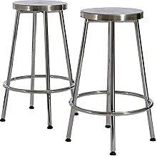 QILIYING Bar Chairs Bar Stools Modern metal Four
