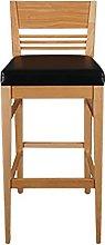 QILIYING Bar Chairs Bar Stools Solid wo-od