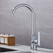 QIMEIM Kitchen Taps Sink Mixer Tap Hot and Cold