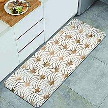 QINCO Anti-Fatigue Kitchen Floor Mat,Art deco.