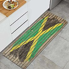 QINCO Anti-Fatigue Kitchen Floor Mat,Chalky